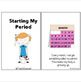 Menstrual Cycle / Starting your period Social Story for Special Education