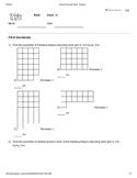 Mensuration Worksheet 2 - Perimeter