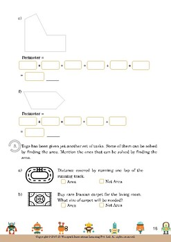 Mensuration for Grade 6