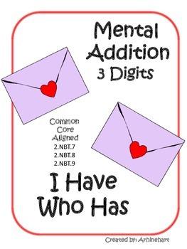 Mental Addition 3 Digits