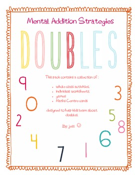 Mental Addition Strategies - Doubles