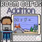 Mental Addition Without Regrouping Boom Cards