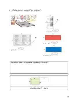 Mental Arithmetic Strategies based on Realistic Mathematics Education