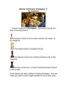 Mental Arithmetic Strategies for Adding Gr 3, 4, 5, 6