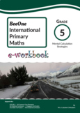 Grade 5 Mental Calculation workbook of 30 pages from BeeOne Books