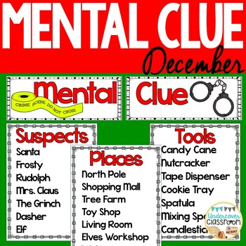 Mental Clue: December Whole-Group Game