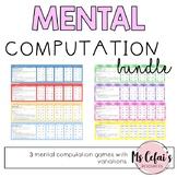 Mental Computation Games Bundle