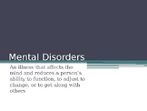 Mental Disorder Slide Show