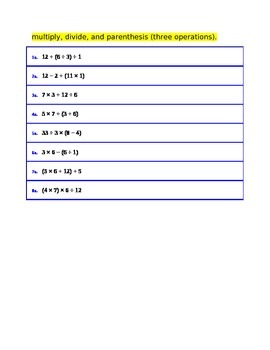 Mental Division for 4th Grade