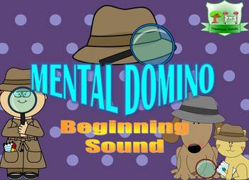 Mental Domino - Beginning Sound - Logic Puzzle
