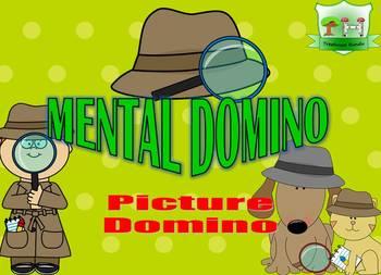 Mental Domino - Picture Domino Kindergarten - Logic Puzzle