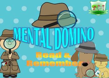 Mental Domino - Read and Remember - Logic Puzzle