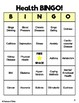 Mental, Emotional, and Physical Health BINGO