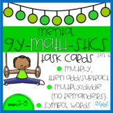 Mental Gy-MATH-stics - Task Cards - Set 4 (B & W and LOW PREP!)