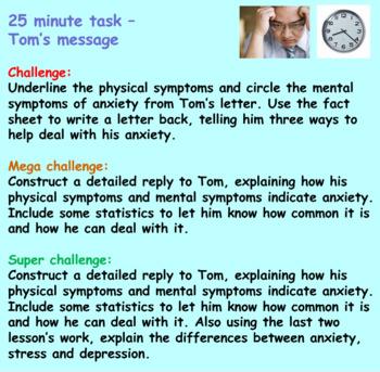 Mental Health: Anxiety