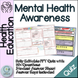 Mental Health Awareness - Character Education
