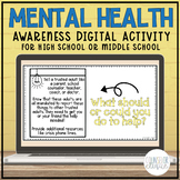 Mental Health Awareness Digital Activity