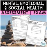 Mental Health Awareness Test | Social & Emotional Health E