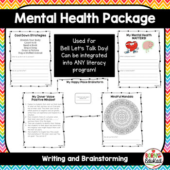 Mental Health Awareness For Kids By Born To Edukait Tpt