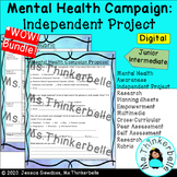 Mental Health Campaign BUNDLE (digital and print version, research project)
