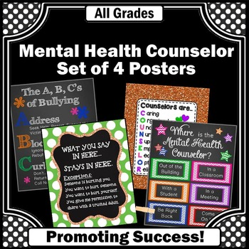 Mental Health Counselor Appreciation Week Gift Idea, Back to School Decor