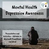 Mental Health - Depression Awareness - Editable in Microsoft PowerPoint