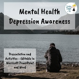 Mental Health - Depression Awareness - Editable in Microso