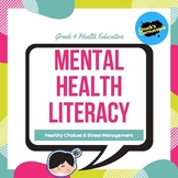 Mental Health Literacy for Junior Students - Health Education - Grade 4