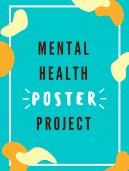 Mental Health Poster Task By The Tiny Things In Life Ed Tpt