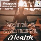 Mental Health Presentation - Editable in Microsoft PowerPoint