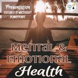 Mental Health Presentation - Editable in Microsoft PowerPoint