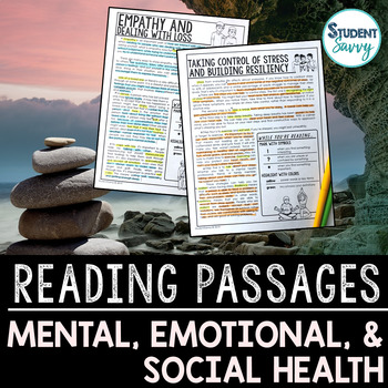 Mental Health Reading Passages