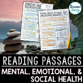 Mental Health Reading Passages | Questions | Annotations