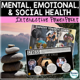 Mental Health Unit Social Health Interactive PowerPoint - Google Slides