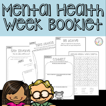 Mental Health Week Booklet FREE