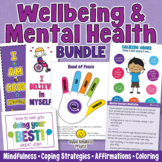 MENTAL HEALTH and WELLBEING Classroom Management Bundle -