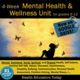 Mental Health Lessons: 20-Lesson Interactive Mental Health and Wellness Unit!