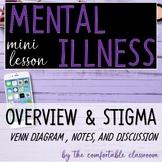 Mental Illness Mini-Lesson: Overview & Stigma Discussion
