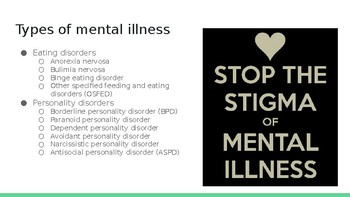 Mental Illness powerpoint