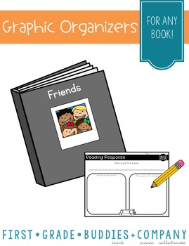 Good Readers Make Mental Images {Set of 5 Reading Organizers}