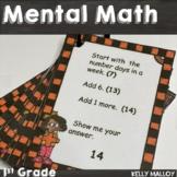 Mental Math 1st Grade