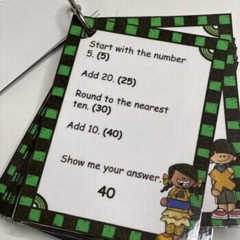 Mental Math 2nd and 3rd Grade - Math Game Math Digits