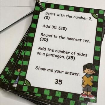 Mental Math 2nd and 3rd Grade