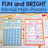 Mental Math Strategies, Posters And Activities
