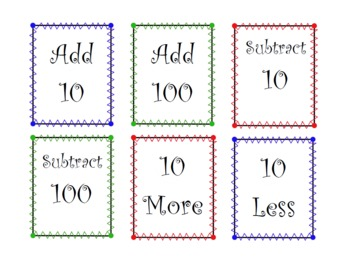 Mental Math Add and Subtract