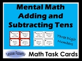 Mental Math: Adding and Subtracting Ten with Three Digit Numbers