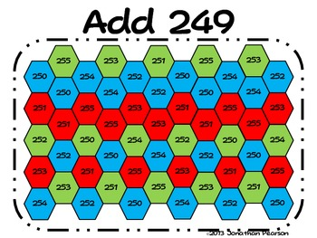 Mental Math Addition - Addition Block Out!  A Fast-Paced Addition Game