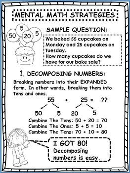 Mental Math Addition Strategies