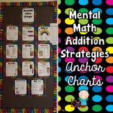 Mental Math Addition Strategies Anchor Charts
