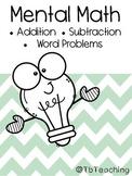 Mental Math | Addition + Subtraction